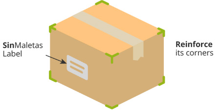 Sketch of how to assemble the box