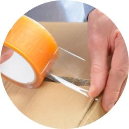 Refuerza el exterior del embalaje para que no se abra
