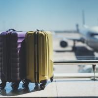 Maleta en un aeropuerto