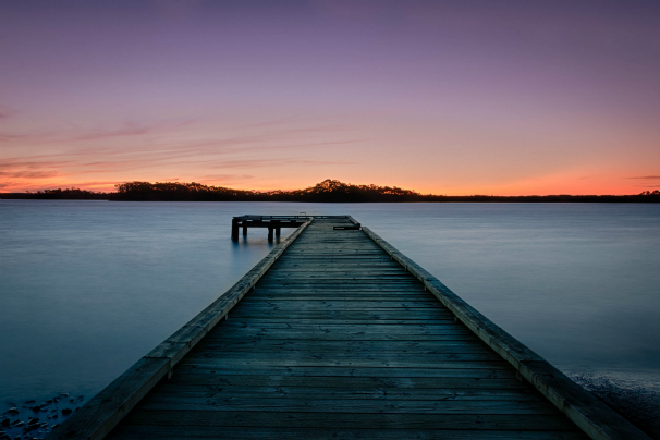 foto muelle de madera en australia