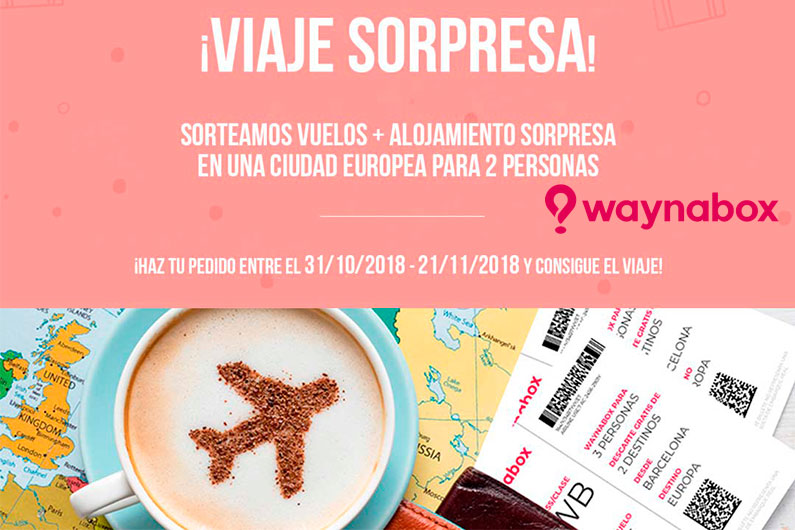 Sorteo Waynabox y Sinmaletas